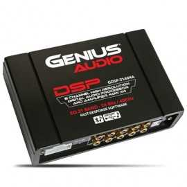 DIGITAL PROCESSOR HIGH RES. AUDIO 8CH RCA OUTPUT - BUILT-IN AMPLIFIER 40W X 4CH - BLUETOOTH AND USB MUSIC - 31 BAND/CH